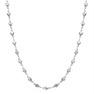 Picture of Silver Heart Chain - 32""
